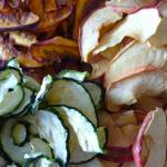 Fruits et légumes séchés