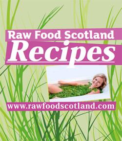 Téléchargez le livre de recettes Raw Food Scotland