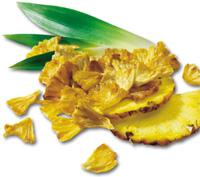 Morceaux d'ananas qualité crudité chez Keimling