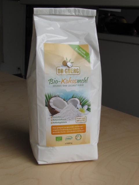 Farine de noix de coco, sans gluten