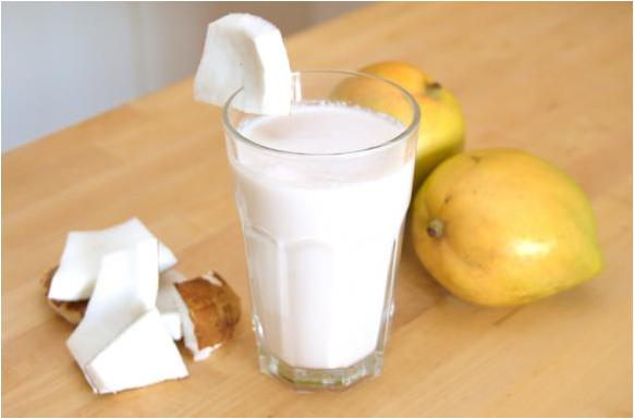 Avez vous d j pens pr parer du lait de coco maison mixer deshydrater crudites - Comment faire du lait de coco ...