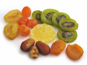Des fruits secs au petit déjeuner