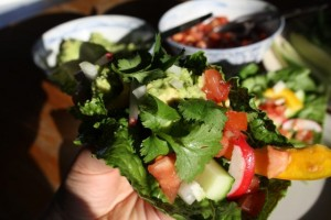 Wrap de légumes : l'idéal pour manger des crudités