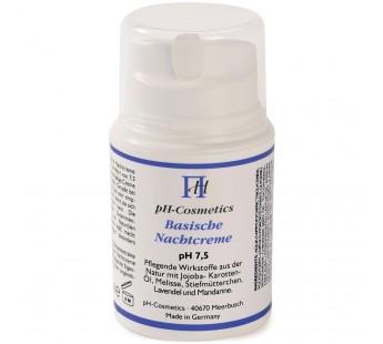 Crème de nuit alcaline pH Cosmétique